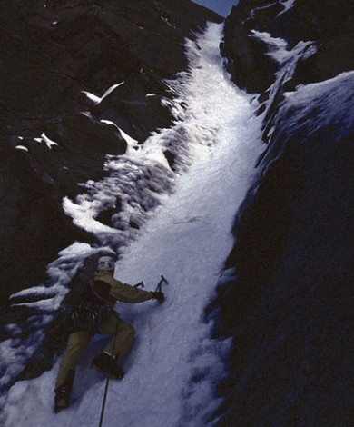 "Beyond God And The Evil V-5, In Summer Time ""Super Conditions"" Nord Face Aig Pelerins, Chamonix, French Alps"